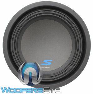 "ALPINE S-W10D2 10"" 1800W WOOFER DUAL 2-OHM REINFORCED SUBWOOFER BASS SPEAKER NEW"