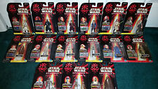 Star Wars Epi. 1 Basic Queen Amidala Darth Maul Mace Windu Jar Jar Binks Droid +