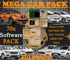 EGR DPF Remove 70x MEGA PACK 2 DVD's - EGR DPF FAP OFF ECU VIRGIN IMMO OFF OBD2