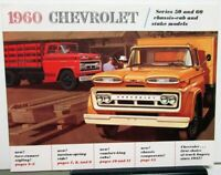 1960 Chevrolet Truck 50 60 Chassis Cab & Stake Series Sales Brochure