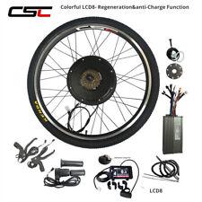 48V 500W 1500W E Bike Motor Conversion Hub  20 24 26 inch Electric Bike Kit LCD3