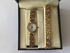 Philip Mercier Premiere Collection Quartz Analogue Wristwatch & Bracelet - Boxed