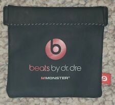 Beats by Dr. Dre BAG Genuine iBeats Red Logo Magnetic Case Pouch Bag
