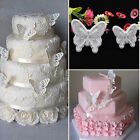 Innovative Butterfly Cake Fondant Decor Sugarcraft Cookie Plunger Cutters Mould
