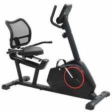 vidaXL Bicicleta Estática Reclinable Masa Rotatoria Máquina Fitness Ejercicio