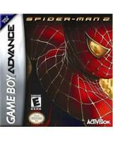 Spiderman 2 Game Boy Advance Game Used