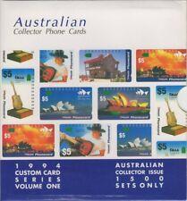 Error Pack Australia Custom Phone Card Series Volume One October 1994