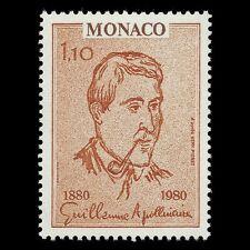 Monaco 1980 - Birth of Guillaume Apollinaire Poet Artist Art - Sc 1231 MNH
