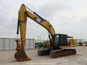 2016 Caterpillar 330FL Hydraulic Excavator A/C Cab Cat Diesel Hyd QC bidadoo