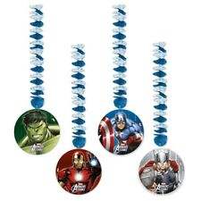 Marvel Avengers Assemble Superhelden Kindergeburtstag Party Swirls Danglings