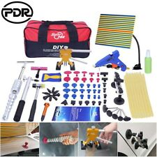 78pc Paintless Dent Repair Puller Lifter PDR Tools T Bar Hammer Removal Glue kit