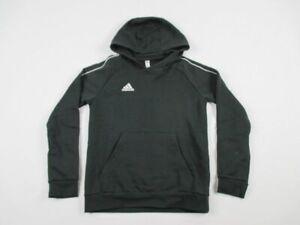 adidas Sweatshirt Youth's Black Cotton New Multiple Sizes