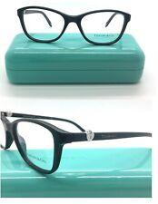 3 Tiffany & Co. TF 2081 8001 Rectangle Black Silver Heart Eyeglasses 53*17*140