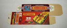 """Matchbox Superfast No 33 Datsun 126 X Streakers Original """"J"""" Box UNFOLDED MINT"""