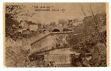 Wappingers Falls NY -STEEL PIPE TO POWER HOUSE IN RAVINE- Postcard