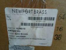 Newport Brass Jacobean Airgap RO 6-290 Satin Bronze