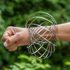 GloFx Flow Ring - Magic Kinetic Slinky Spring Toy Wrist Rotating