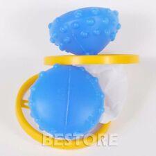 2PCS Top loading washing machine only Washing Laundry Ball Dust & Remove lint O