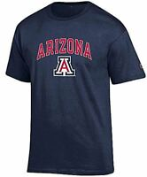 Arizona Wildcats Mens Navy Arena Short Sleeve Tee Shirt by Champion