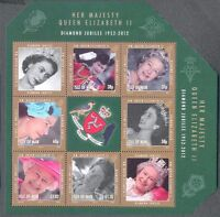 Isle of Man -Diamond Jubilee min sheet-Scarce- min sheet mnh-2012