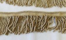 Guirlande de frange Passementerie couleur écru 5 longueurs différentes Total 9 m