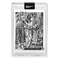 Topps PROJECT 2020 Card 91 - 1992 Mariano Rivera by JK5 - Print Run: 35330