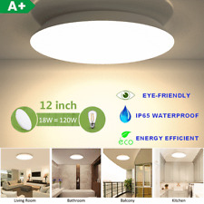 12 in LED Ceiling Light 18W=120W Fixture Flush Mount Round Home Decor Bathroom