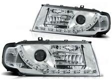 LED HEADLIGHTS LPSK01 SKODA OCTAVIA MK I 2000 2001 2002 2003 2004 CHROME