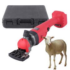 300w Electric Sheep Goat Shearing Machine Wool Clipper Cordless Shears 2400rpm