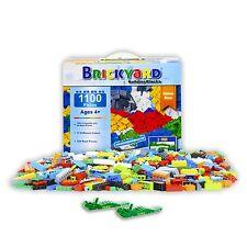 Building Bricks - 1,100 Pieces Compatible Toys by Brickyard Building Blocks -...