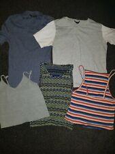 Joblot 5 Vest Tops/T shirts - TopShop. New Look - Size 8 - Good Condition