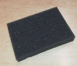 Pk 10 Grey Foam Pads/Blocks 78 x 58 x 12mm , Ideal for protecting small items