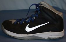 Nike HyperQuickness Basketball Shoes Sneakers Sz 6.5 6 1/2 Black blue Boys Youth