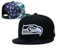 Seattle Seahawks NFL Football Embroidered Hat Snapback Adjustable Cap