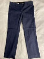 Ann Taylor Petite Women's Dark Blue Navy Size 00P Dress Pants