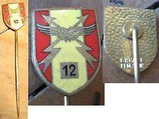 alte Nadel Pin Flieger Militaria BW Staffel Abzeichen Emaille
