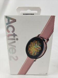 Samsung Galaxy Watch Active 2 SM-R820 40mm Rose Gold Bluetooth Read Below