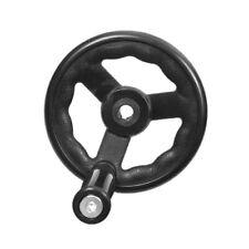 PA66 Nylon Ripple Three Spoke Hand Wheel with Revolving Handle for Machine Tool