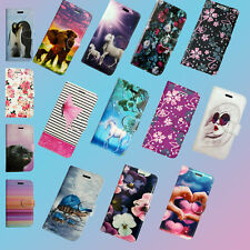 FOR SAMSUNG GALAXY A40 PU LEATHER BOOK FLIP CARD SLOTS SECURE PHONE CASE COVER