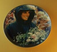 Diana, Princess of Wales Plate THE PEOPLE'S PRINCESS Di Franklin Mint Lovely!