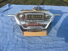 1955 Hudson Wasp AM radio weather eye bezel