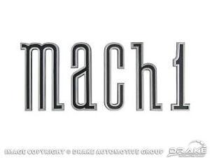 Mustang 1970 Mach 1 Rocker Sill Emblem Set Badge 302 351 428 Fastback Sportsroof