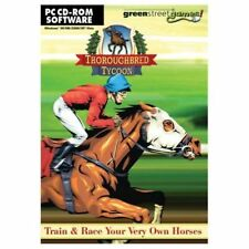 THOROUGHBRED TYCOON - Horse Racing Sim - PC CD NEW