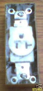 NEW EAGLE 1877W-BOX 20 AMP 125 VOLT 5-20R RECEPTACLE