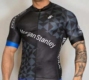 MEN'S USED Zip Short Sleeve Cycling Jersey Adult M