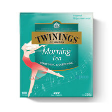 Twinings of London Morning Tea 100 Tea Bags 220g Box NEW