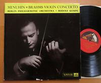 ALP 1568 Brahms Violin Concerto Yehudi Menuhin Rudolf Kempe NEAR MINT HMV Mono