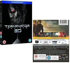 Terminator Genisys 2015 Arnold Schwarzenegger Blu-ray 3d