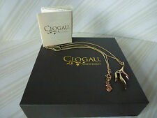 "Clogau Gold,9ct Yellow & Rose Gold Tree of Life Eden Pendant, 22"" Chain RRP £720"