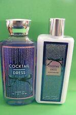 "Bath & Body Works ""COCKTAIL DRESS-CRYSTAL PEONIES"" lotion & shower gel"